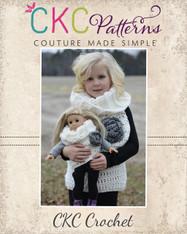 Esme's Cowl Vest Crochet PDF Pattern