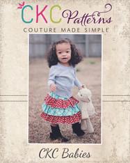 Amanda's Baby Triple Ruffle Skirt PDF Pattern