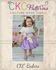 Daphne's Baby Bubble Skirt and Top PDF Pattern