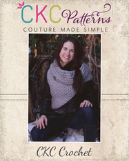 Kat's Cowl Shell Crochet PDF Pattern