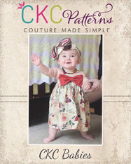 Hattie's Baby Simple Bow Top, Dress, and Maxi PDF Pattern