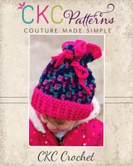 Shay's Shifty Beanie Crochet PDF Pattern