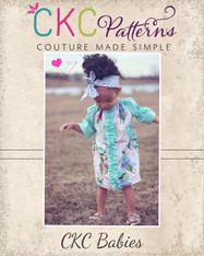 Merideth's Baby Center Ruffle Peasant Dress and Top PDF Pattern