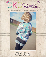 Donna's Girls Knit Dolman Top PDF Pattern