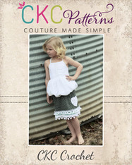 Emerson's Crochet Trim and Pocket Skirt PDF Pattern
