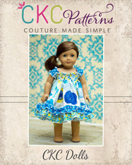 Seyla's Sundress & Top Doll Sizes PDF Pattern