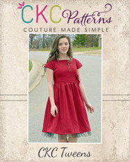 Melody's Tween Party Dress PDF Pattern