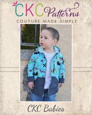 Damian's Baby Zip Hoodie PDF Pattern