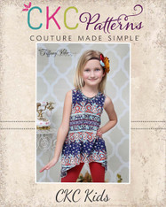 Charity's Swing, Hi-low and Handkerchief Top PDF Pattern
