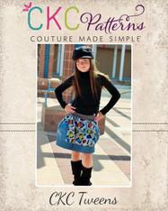 Brewster's Tween Bubble Pocket Skirt PDF Pattern