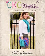 Brewster's Women's Bubble Pocket Skirt PDF Pattern
