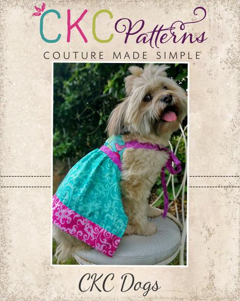 Hadley\'s Halter Dress for Dogs PDF Pattern