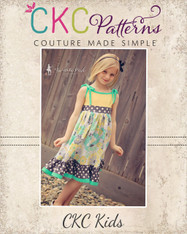Ainsley's Tiered Knit Tank Dress and Tunic PDF Pattern