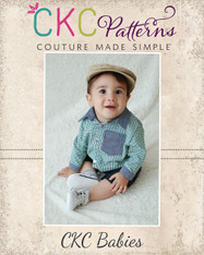 Eric's Baby Dress Shirt PDF Pattern