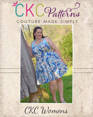 Betty's Women's Plus Fifties Dress PDF Pattern