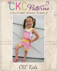 Shiloh's Shortalls and Chiffon Dress PDF Pattern
