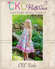 Anna's Sweetheart Halter Top and Dress Sizes 6/12m to 15/16 Girls PDF Pattern