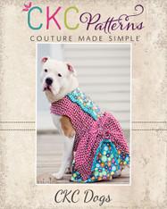 Poppy's Peekaboo Dress for Large breed Dogs PDF Pattern