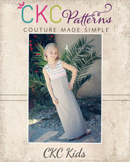 Justice's Knit Maxi, Dress, and Top PDF Pattern