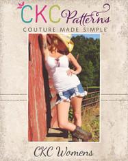 Kristine's Women's Ruffled Shorts PDF Pattern