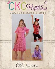 Tansy's Tweens Knit Pajamas PDF Pattern