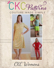 Tansy's Women's Knit Pajamas PDF Pattern