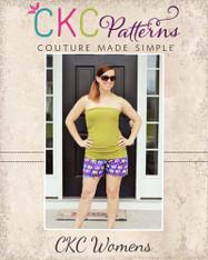 Madeline's Women's Reversible Scalloped Shorties PDF Pattern