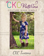 Danika's Tweens One-Piece Top and Dress PDF Pattern