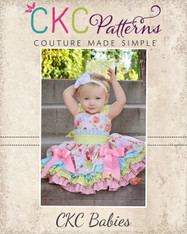 Larkin's Baby Fancy Party Dress PDF Pattern