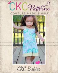 Rayna's Baby Retro Romper PDF Pattern