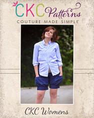 Brenna's Women's Bubble Pocket Shorts PDF Pattern