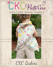 Coraleigh's Baby Reversible Pinafore PDF Pattern