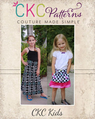 Nevaeh's Knit A-Line Pocket Skirt PDF Pattern