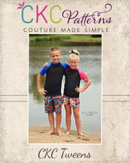Alex's Tween Rash Guard Tee PDF Pattern