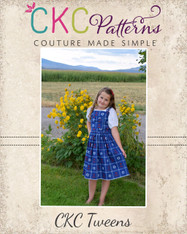 Jaclyn's Tween Jumper Dress PDF Pattern