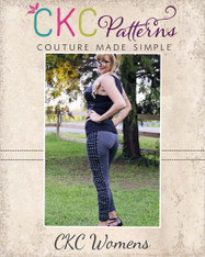 Priscilla's Womens Ruched or Cuffed Leggings PDF Pattern