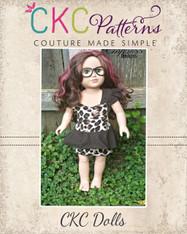 Peggy's Doll Peplum Dress PDF Pattern