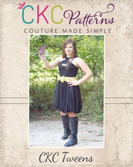 Giselle's Tweens High Neck Top and Dress PDF Pattern