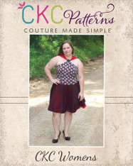 Giselle's Womens High Neck Top and Dress PDF Pattern
