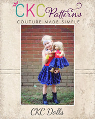 Giselle's Doll High Neck Top and Dress PDF Pattern