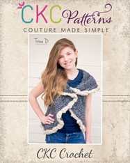 Aspen's Tweens Crochet Circle Vest PDF Pattern