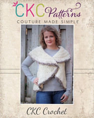 Aspen's Women's Crochet Circle Vest PDF Pattern