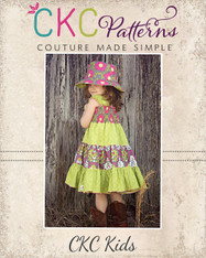 Brooklyn's Girls and Tweens Tiered Sundress PDF Pattern