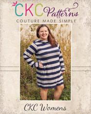 Haven's Women's Plus Hoodie Dress PDF Pattern
