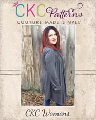 Chantelle's Women's Plus Knit Waterfall Infinity Cardigan PDF Pattern