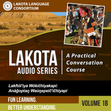 Lakota Audio Series: A Practical Conversation Course Vol. 1B - Digital Download