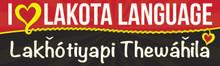 I ♥  Lakota Language - Lakȟótiyapi thewáȟila Bumper Sticker