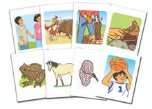Lakȟótiya Wóglaka Po! - Speak Lakota!  Level 4 Flashcard Set