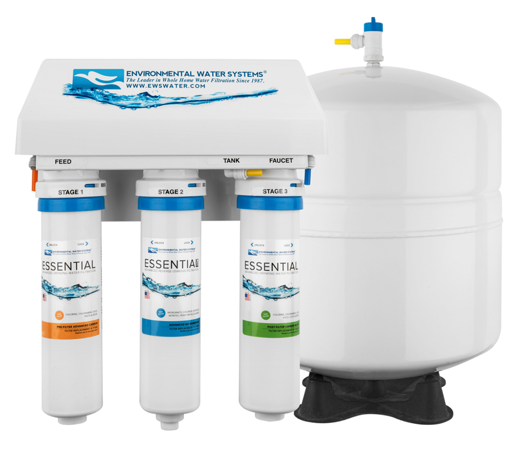ESSENTIAL RO Three-Stage Reverse Osmosis System (Model #: RO3)