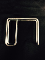 1x3 Long Stall Curtain Hooks (sold in sets of 6)